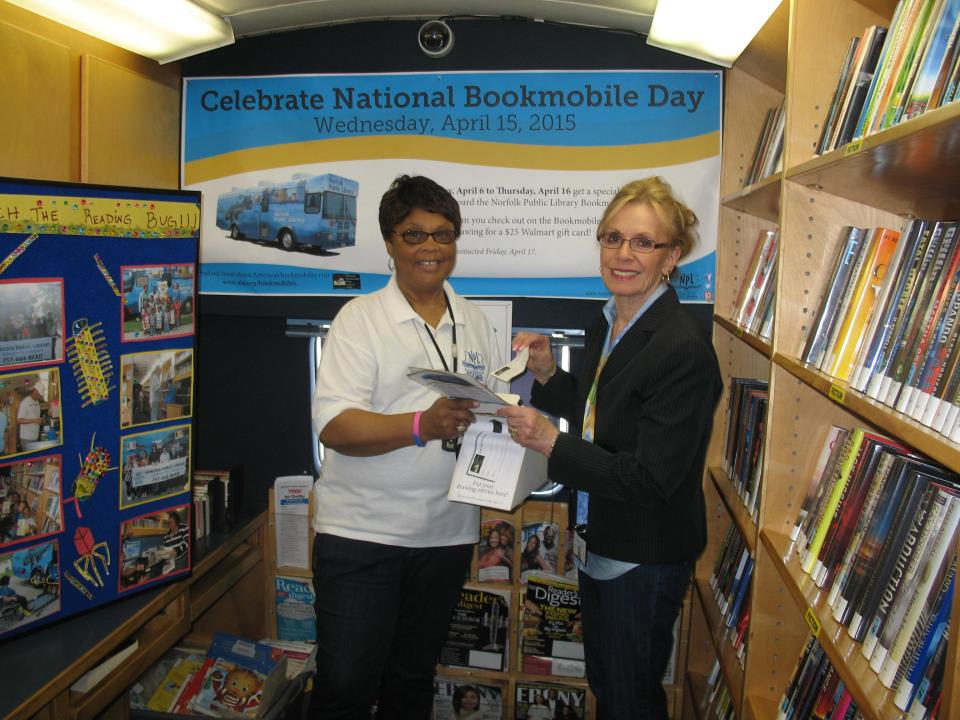 National Bookmobile Day 2015