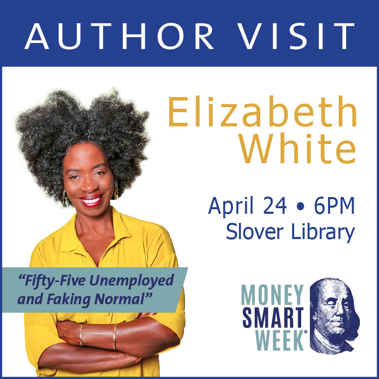Author Lizzie White Visits April 24
