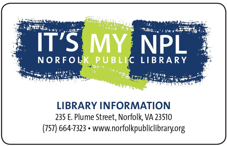Library Cards  Borrowing  Norfolk Public Library