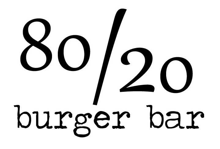 80/20 Burger Bar logo