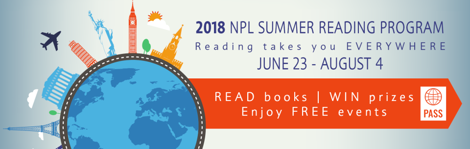 Summer Reading Program June 23 - August 4, 2018