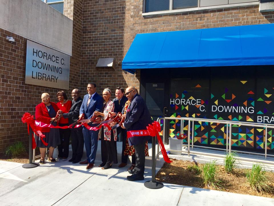 Horace C. Downing Grand Reopening April 18, 2018