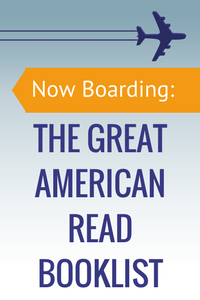 Now Boarding: The Great American Read Booklist