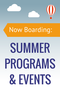 Now Boarding: Summer Programs& Events