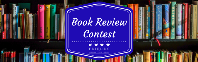 Book Review Contest landing page