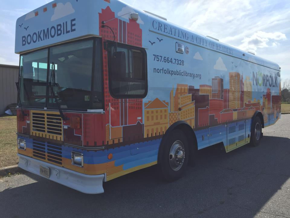 The Renovated NPL Bookmobile