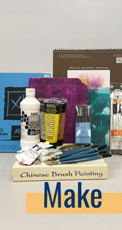 Make: Art supplies