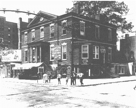 Newtown House on Granby and College Place